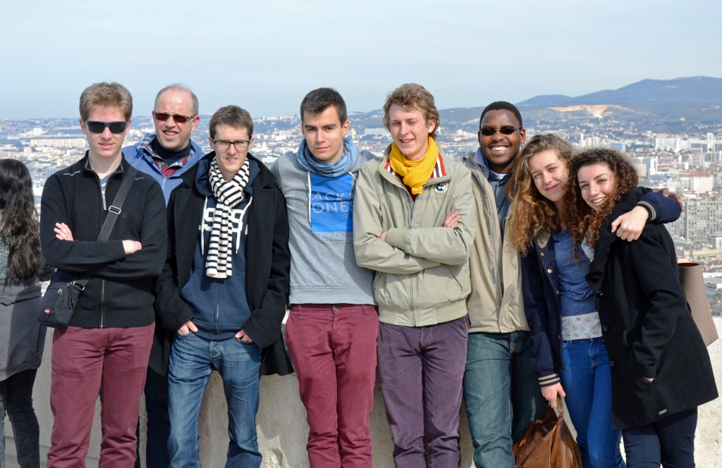 Frat-Oser on the hill at Notre-Dame de la Garde