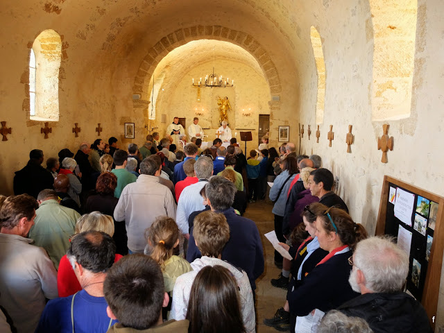 Mass in the St. Victoire Priory