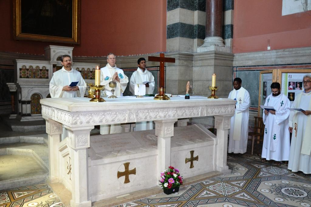 Mass at the tomb of St Eugene de Mazenod