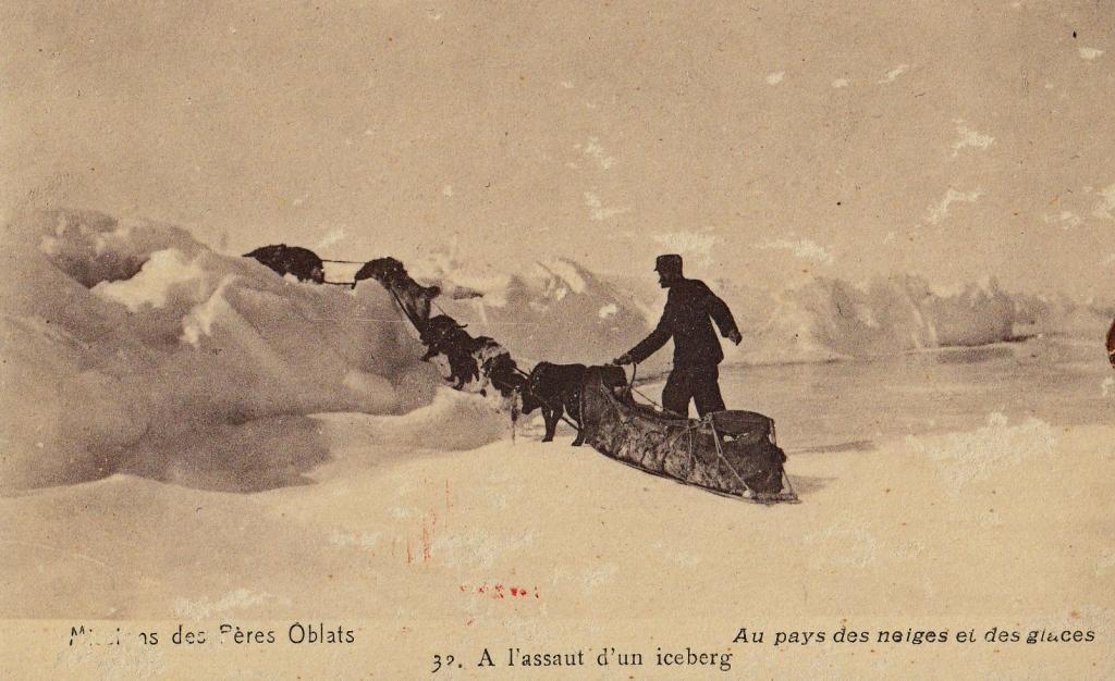 La misión de los Oblatos en medio de los Inuit empezó en 1912