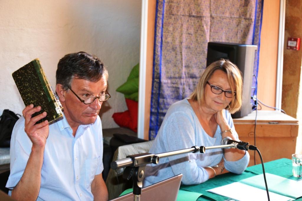 Bertrand Morard y Christine Pajon