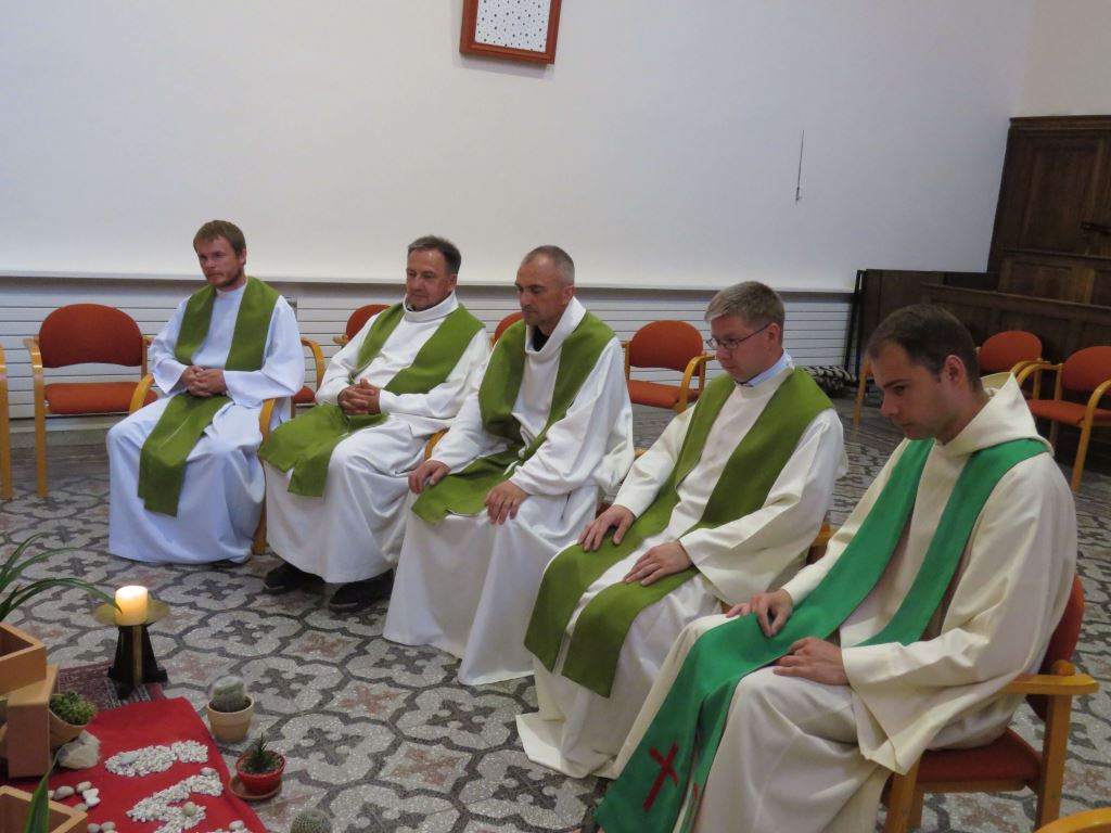 (de gauche à droite) Szymon FORAJTER, Piotr BIELEWICZ, Jerzy KOTOWSKI, Andrzej JUCHNIEWICZ, Dimitri ZANIEMONSKI