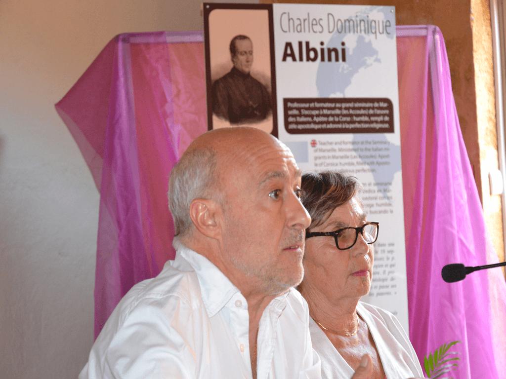 Gérard Soldaini y Marie-Thérèse Ottavioli