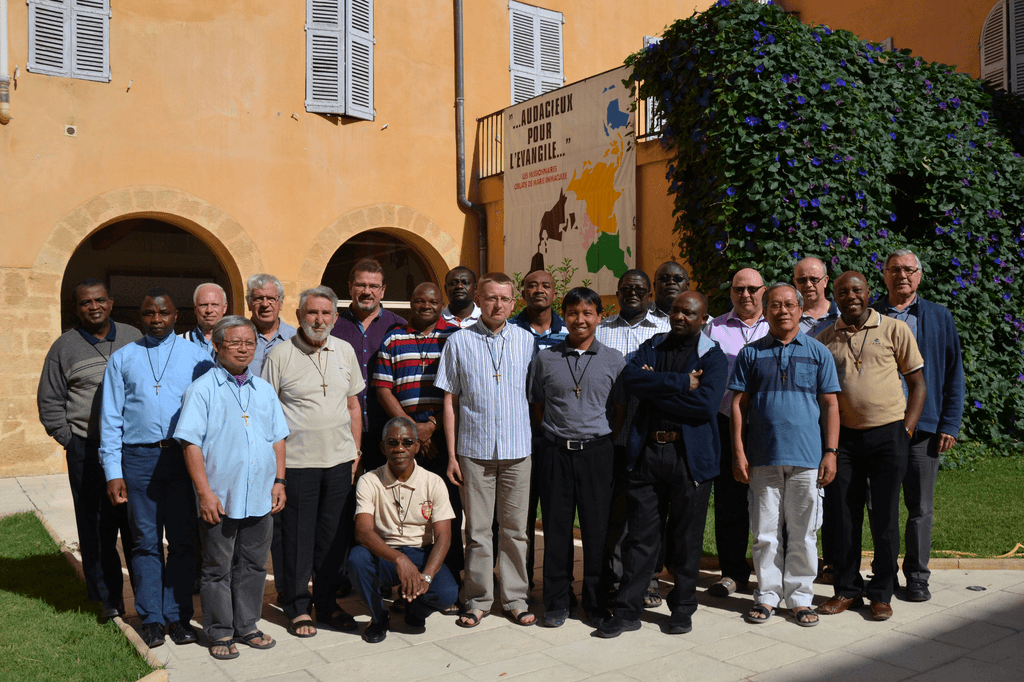 The participants of De Mazenod Experience in French