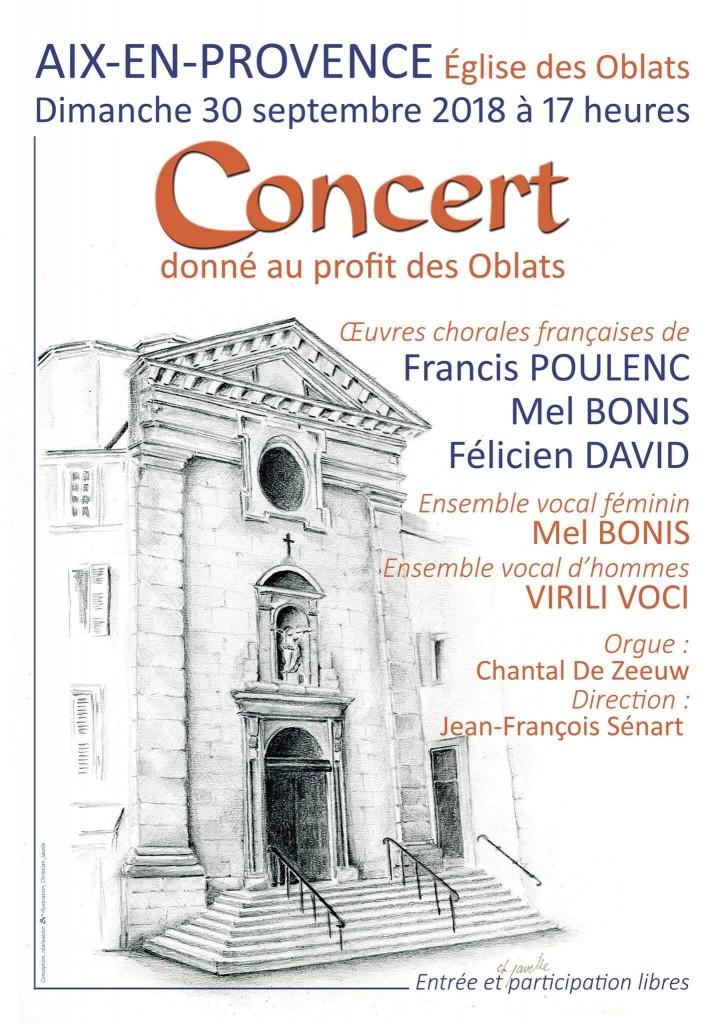 Concert Oblats 2018-09-30